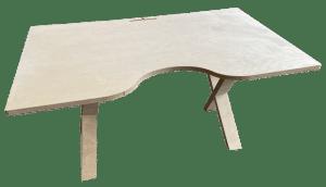 bureau ergonomique bois